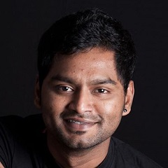 headshot for Rajavel Subramanian