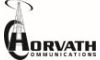 Horvath Communications sponsor logo